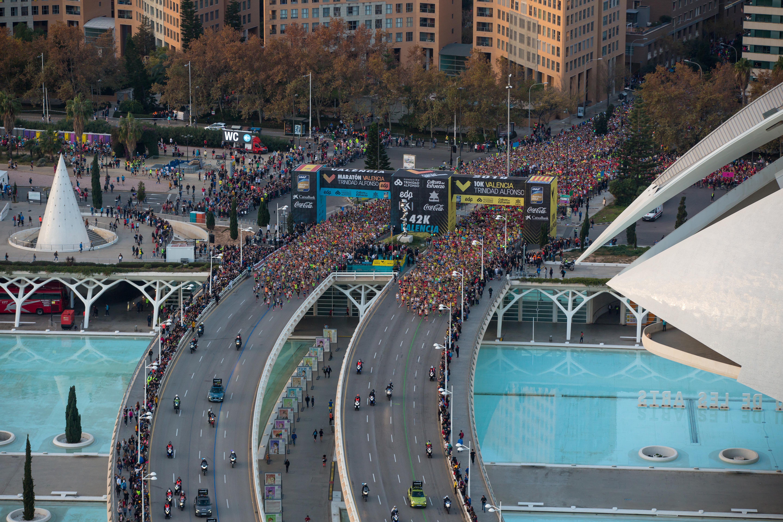 Валенсийский марафон побил собственные рекорды и занял шестое место в мире по скорости