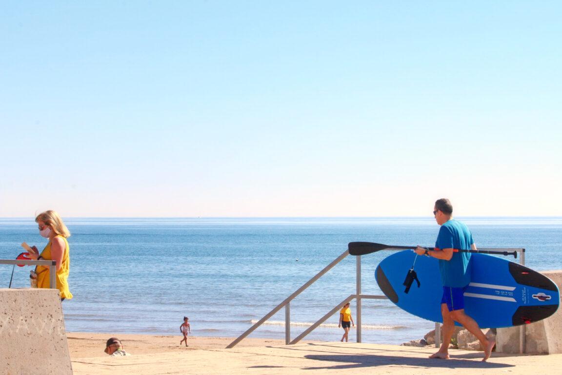 Валенсия – идеальное место для пляжного отдыха